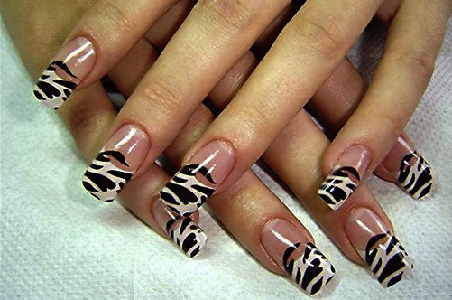трафареты для дизайна ногтей фото