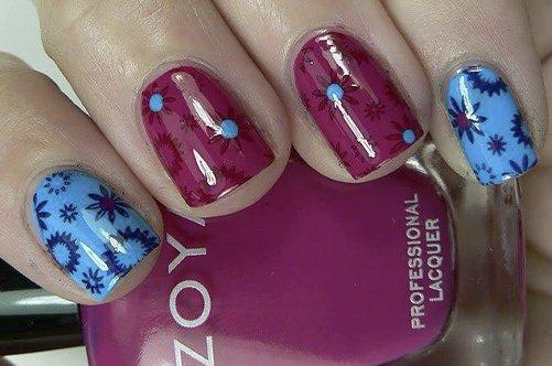 яркий модный дизайн ногтей лето 2013 фото