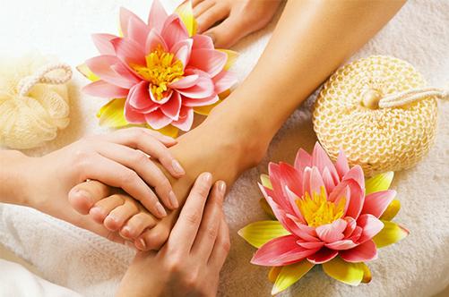 японский педикюр массаж ног фото