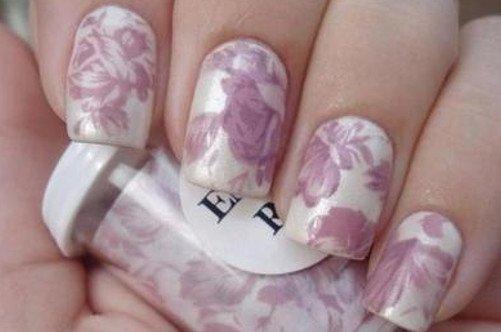 фото нежного летнего дизайна ногтей