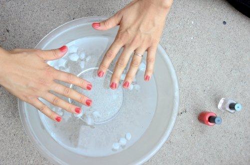Как высушить ногти без лампы: простой метод   Красивые ногти
