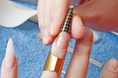 Наращивание ногти своим руками