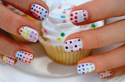 как можно накрасить ногти картинки
