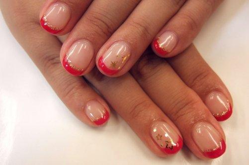 Ногти ярких цветов 60