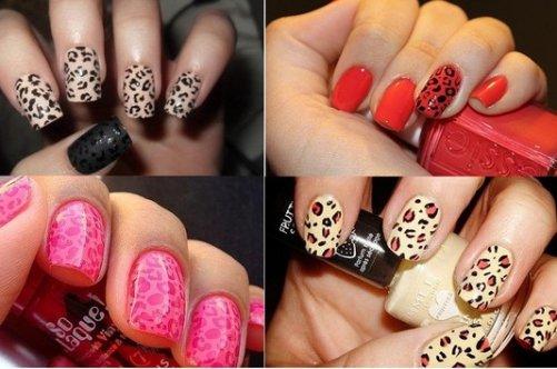 змеиный дизайн ногтей: