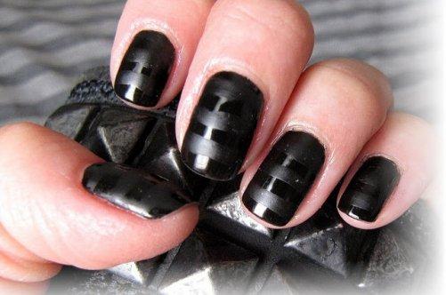 дизайн ногтей средней длины: