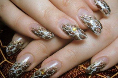 фото красивый дизайн для скошенных ногтей настройки