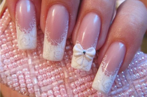 Фото ногти дизайн на свадьбу