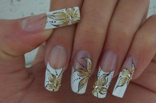 как сделать красивый дизайн ногтей: